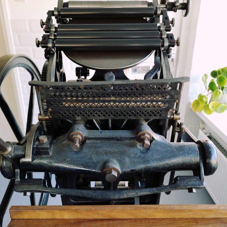 Over Presto Letterpress Drukpers