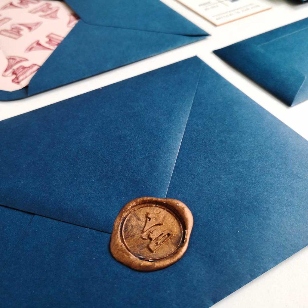 Waxzegel Envelop
